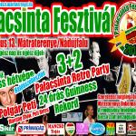 IV. Palacsinta Fesztivál Mátraterenye 2013 július 13-14