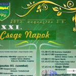 XXIII. Csege Napok Tiszacsege 2015