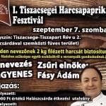 VII. Tiszacsegei Harcsapaprikás Fesztivál 2019