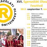 XVI. Egerszóláti Olaszrizling Fesztivál 2013 szeptember 7