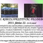 XIII. Ribizli Fesztivál Feldebrő 2018