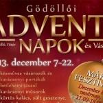 Gödöllői Adventi napok 2013 december 7-22