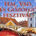 I. Hal, Vad és Gőzölgő Fesztivál Győr 2013 január 17-20