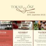 X. Tokaji Ősz napok 2013