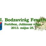 XIV. Bodzavirág Fesztivál Fertőboz 2015. május 30.
