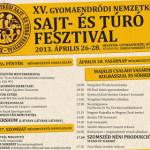 XVI. Nemzetközi Sajt- és Túrófesztivál 2014