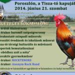 XI. Heves Megyei Kakas Szépségverseny és Bográcsfesztivál 2014