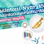 Balatoni Nyár '15 Mária napok Fúvószenekari Fesztivál