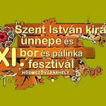 XIV. Bor- és Gasztrofesztivál, Szent István király ünnepe 2018