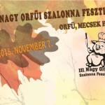 VII. Nagy Orfűi Szalonna és Kolbász Fesztivál 2019