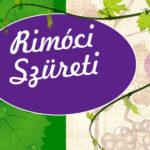 Rimóci Szüreti 2019