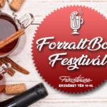 I. Forralt Bor Fesztivál a Fröccsteraszon 2020