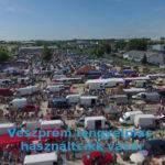 Veszprém lengyel piac, régiségvásár 2020 július