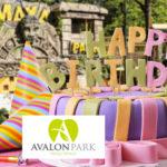 Avalon Park, Maya játszópark – Születésnap