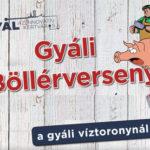 VIII. Gyáli böllérverseny 2020